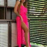 Платье - туника ажурное