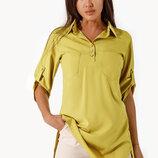 Яркая удлиненная рубашка