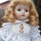 Куклы фарфоровые винтажные старинные