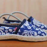 Женские синие слипоны, эспадрильи Superdry, 38 размер. Оригинал