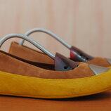 Коричневые кожаные женские туфли на платформе Fit Flop, 40 размер. Оригинал