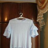 Модная футболка H&M, 100% хлопок, размер М/l