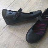 Кожаные туфли Bootleg от Clarks, 23,5см
