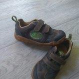 Кожаные кроссовки Clarks 15,5см 8G