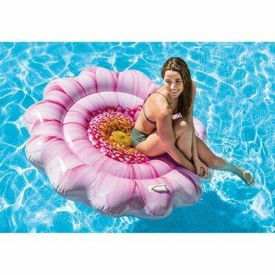Пляжный надувной матрас - плот Intex 58787 Розовый Цветок Отзывы
