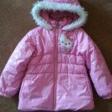 Демисезонная куртка Hello Kitty для девочки р. 98-104