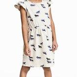 Платье H&M Лошадки Размеры на 2-6 лет