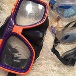 Очки детские и взрослые для плавания в бассейне маска для подводного плавания