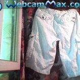 Муж. очень крутые шорты-белого цвета.Бренд-HILFIGER-DENIM Пояс-80 см.можно -104 см.