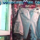 Муж. светло-серого цвета шорты бренд-BILL-BONG Размер-34. Пояс-90 см. Бёдра-112См. Длина-53. Состоян
