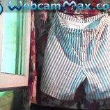Муж. шорты в полоску б/у,но очень в хорошем состоянии. Бренд macПояс-90 см.Бёдра-108 см. Длина-50 см