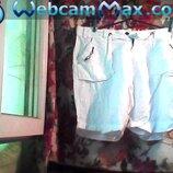 Муж. шорты белого цвета б-у в отличном состоянии .Бренд-TRAMONTANA размер L.Пояс-92 см.104 см.Длина