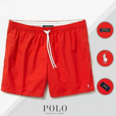 Шорты Polo Ralph Lauren Swimming Trunks красные
