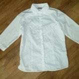 next Белая рубашка , белая блузка Некст на 16 лет , состояние новой