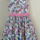 Платье на девочку 6-7 лет M&S