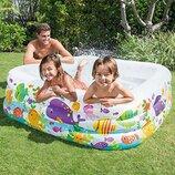 Детский надувной бассейн Intex 57471 NP Голубая Лагуна