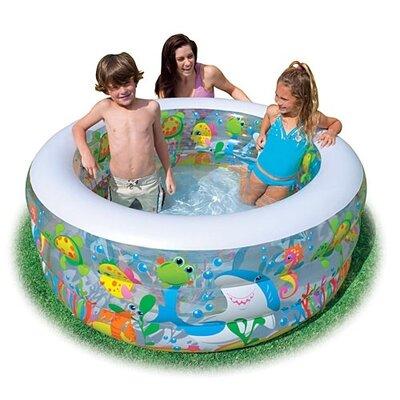 Детский надувной бассейн Intex 58480 NP«Аквариум»