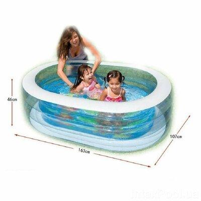 Детский надувной бассейн Intex 57482 «Китенок»