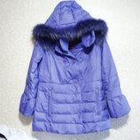 Куртка р.48, LAWINE женское капюшон девочка пуховик на осень