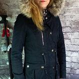 Куртка парка chicoree. Оригинал. Плотный коттон.