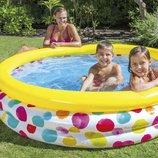 Детский надувной бассейн Intex 58449 «Геометрия»