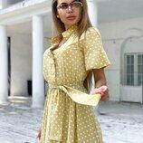 Милое платье летнее 42 - 44 три расцветки