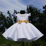 Нарядное пышное платье на годик