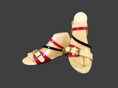 Босоножки сандалии женские, лаковые. Размер 36-41.