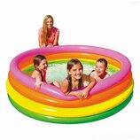Детский надувной бассейн Intex 56441 «Радуга»