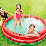 Детский надувной бассейн Intex 58448 «Арбуз»