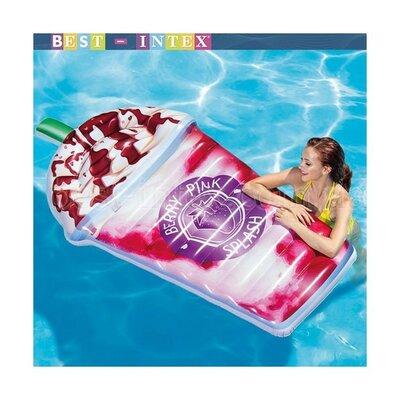Пляжный надувной матрас, плотик Intex 58777 Ягодный коктейль, Отзывы