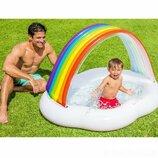 Детский надувной бассейн Intex 57141 «Радуга-Облако»,