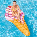 Надувной матрас - плот Intex 58762 EU Мороженое рожок 224 х 107 см Отзывы