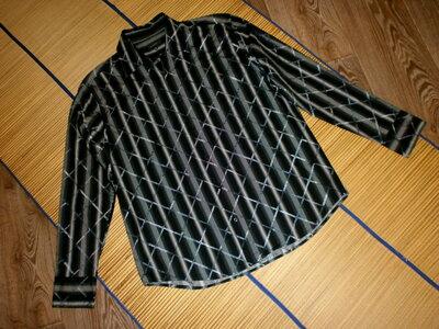 Рубашка мужская с длинным рукавом L-XL