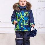 Зимний комбинезон с курткой для мальчика