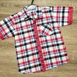 Гарненькі літні рубашечки для хлопчиків Турція. 5-9 років