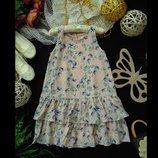 6-7лет.Шикарное шифоновое платье H&M.мега выбор обуви и одежды