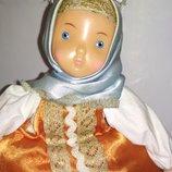 Коллекционная винтажная Кукла Ссср см на чайник самовар заварница