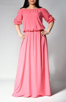 Платье женское макси от бренда Adele Leroy.