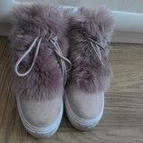 Reserved хайтопы высокие кроссовки деми ботинки