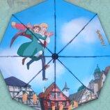 Зонт «Ходячий замок». Аниме Зонтик. Любимые аниме персонажи.