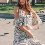 Платье легкое воздушное три расцветки