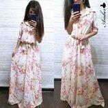 Платье 42 44 46 48 50 52 размеры 2 цвета