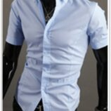 Рубашка мужская классическая M-XXL код 59