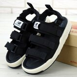 Мужские сандали босоножки New Balance Sandals Нью Беланс. Black White