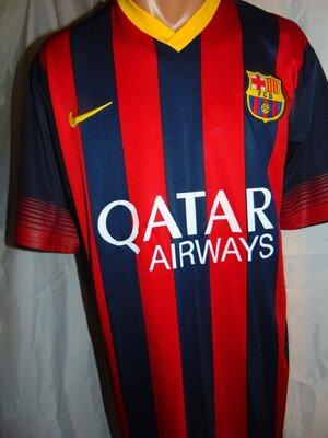 Футбольная фирменная футболка Nike.ф.к Барселона .Messi.м-л
