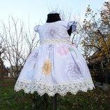 Нежное нарядное платье для девочек
