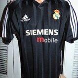 Спортивная раритет футбольная футболка Adidas ф.к Реал .Zidane.с-м