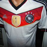 Футбольная оригинал фирменная футболка Adidas зб Германии .9-13 лет xs