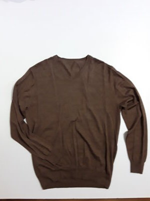 Фирменная шерстяная кофта пуловер L
